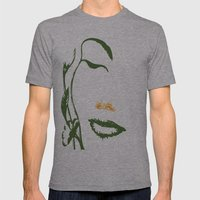 Mother Nature Mens Fitted Tee Athletic Grey SMALL