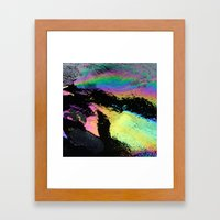 Water and Oil Framed Art Print