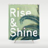 Rise & Shine Shower Curtain