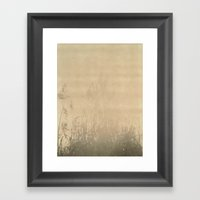 Sunbury Field Polaroid Framed Art Print