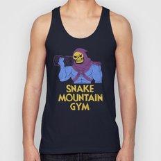 snake mountain gym Unisex Tank Top
