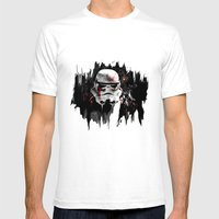 War Is Over Mens Fitted Tee White SMALL