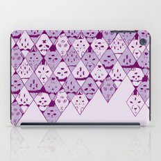 Diamond Faces iPad Case