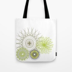 Modern Spiro Art #4 Tote Bag