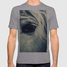 CHARLY - CROSS/PROCESS Mens Fitted Tee Athletic Grey SMALL