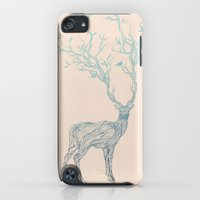iPhone Cases featuring Blue Deer by Huebucket