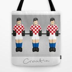 table football - Croatia Tote Bag