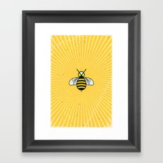 Don t worry - Bee happy - A Hell Songbook Edition Framed Art Print
