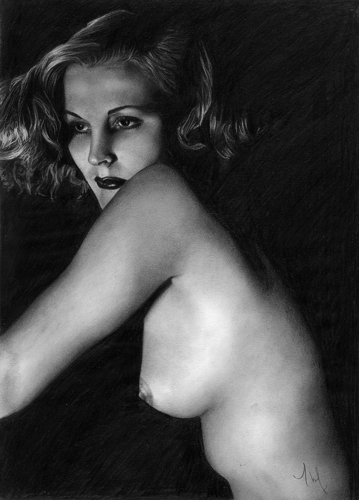 Vintage Nude Prints 102