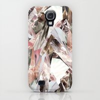 Galaxy S4 Cases featuring Arnsdorf SS11 Crystal Pattern by RoAndCo