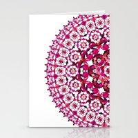 Khatem Rosette 002 | Magenta Stationery Cards