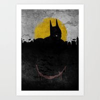 Night of Justice Art Print