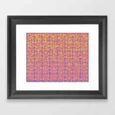 Cutout Manipulation Version II  Framed Art Print