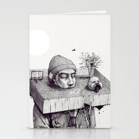Kid Please Draw Me A Hou… Stationery Cards