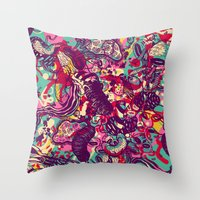 Species Throw Pillow