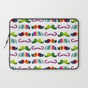 Mustache Party 1 Laptop Sleeve