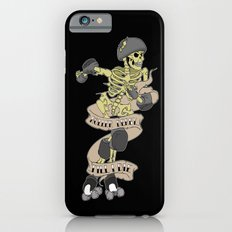 Roller derby till I die iPhone 6s Slim Case