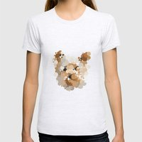 Terrier  Womens Fitted Tee Ash Grey SMALL