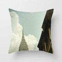The City Of The Fighting… Throw Pillow