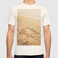 Merry Christmas! - Christmas at the beach Mens Fitted Tee Natural SMALL