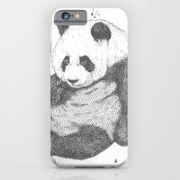 iPhone & iPod Case featuring Panda by Rosepetaldeer
