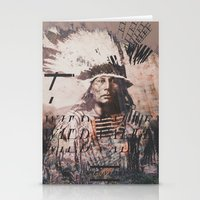 Crazy Horse Stationery Cards