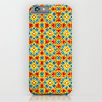 Orange Stars iPhone 6 Slim Case