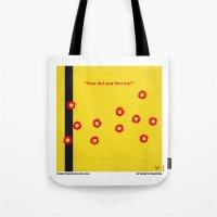 No048 My Kill Bill -part 1 minimal movie poster Tote Bag