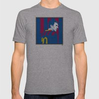 Messi Barcelona Mens Fitted Tee Athletic Grey SMALL
