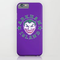 iPhone Cases featuring Arkham Island by castlepöp