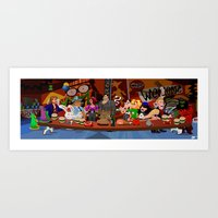 LucasArt Point and Click Art Print