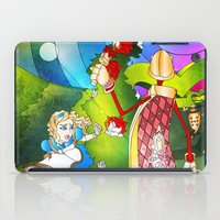 Paint The Roses Red iPad Case
