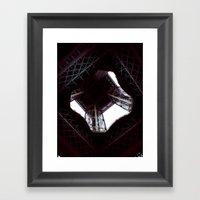 UNDER THE SKIRT OF THE E… Framed Art Print
