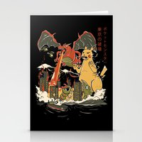 Out Of Control II Stationery Cards