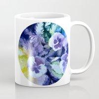 Pansies Crush  Mug