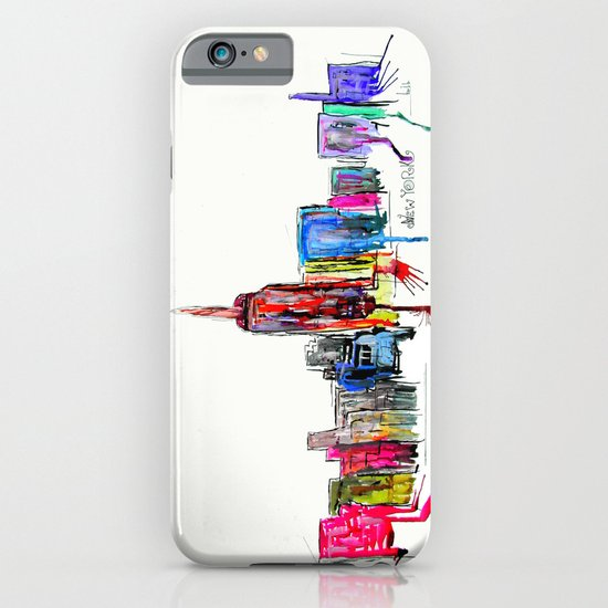 new york inked  iPhone & iPod Case