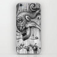 Fish Fall iPhone & iPod Skin