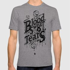 Blood, Sweat, & Tears Mens Fitted Tee Tri-Grey SMALL
