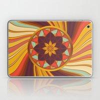 Floral vortex Laptop & iPad Skin