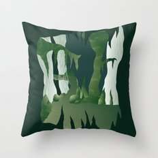 Shenmue - The Great Stone Pit Throw Pillow