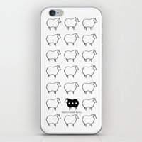 Stand Out From The Crowd iPhone & iPod Skin