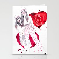High, Valentine :-) Stationery Cards