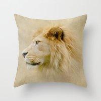 Lion III Throw Pillow
