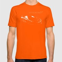 McLaren P1 High Contrast Mens Fitted Tee Orange SMALL