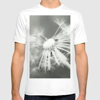 Dandelion Mens Fitted Tee White SMALL
