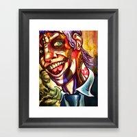 Wick Framed Art Print