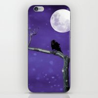 Moonlit Winter Sky iPhone & iPod Skin