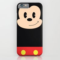iPhone & iPod Case featuring Mickey Mouse by Robert Woods