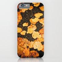 Fallen leaves iPhone 6 Slim Case