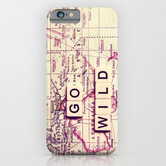 go wild iPhone & iPod Case